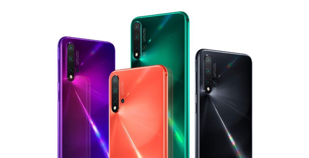 Seri Smartphone Baru Huawei Diumumkan