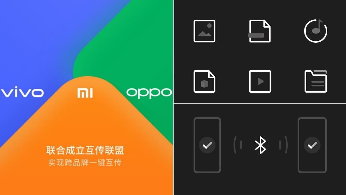 Xiaomi Oppo Vivo Kolaborasi untuk Program Transfer File
